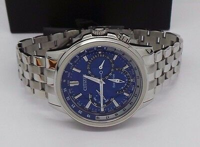 $450  Men's CITIZEN ECO DRIVE CHRONOGRAPH WATCH STAINLESS STEEL GN-4W-S  A8452-1