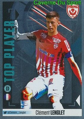 590 Clement Lenglet Top Player As.nancy Sticker Foot 2017 Panini