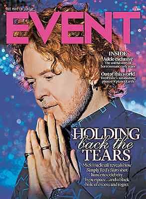 Mick Hucknall - Adele Photo Interview Uk Event Magazine Nov 2016 Jeremy Renner