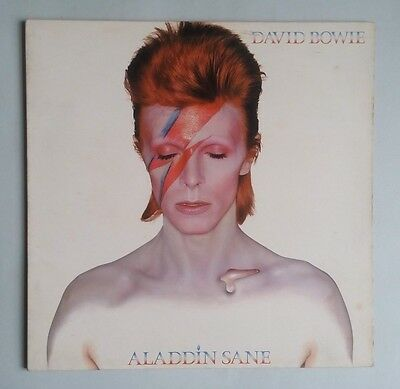 David Bowie - Aladdin Sane - Vinyl LP UK 1973