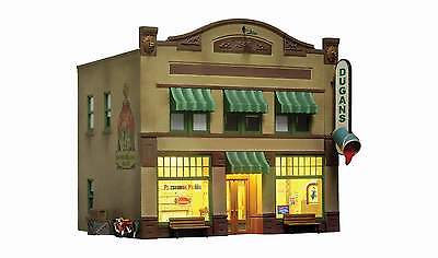 Woodland Scenics Built & Ready Dugan's Paint Store O Scale Building Led Lighting
