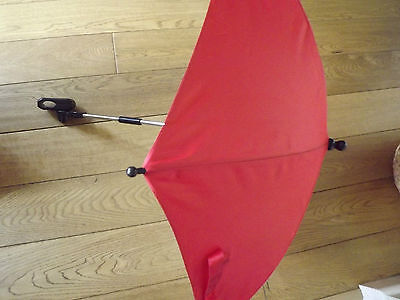 Universal Sun Shade Parasol in Red Fits ICandy Cherry, Bugaboo Cameleon