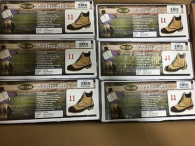 Pro Line Wading Boots Shoes W285D Men's 11  50% Off Amazon Price !! New