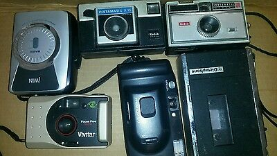 Camera Lot Assorted Makes And Models
