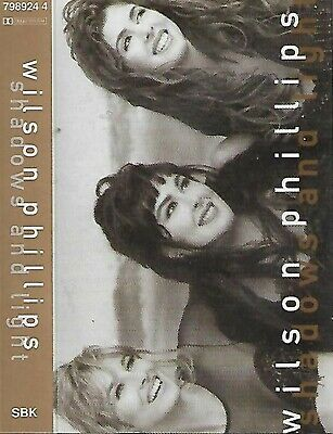 Wilson Phillips Shadows And Light Cassette Album Beach Boys Mamas Papas