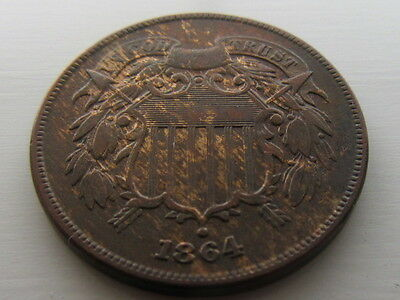 USA United States 2 Cent Coin 1864.