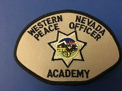 Western Nevada Peace Officer Academy Shoulder Patch