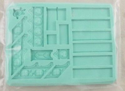 Hirst Arts #235 Gothic Roof Fantasy Scenery Mold