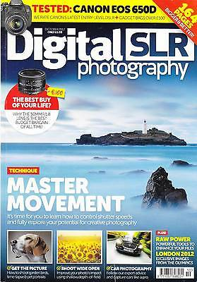 Digital SLR photography magazine with  Canon EOS 650D  camera test October 2012