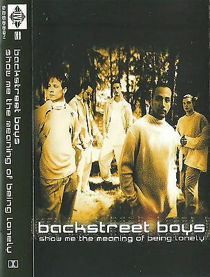 Backstreet Boys Show Me The Meaning Of Being Lonely CASSETTE SINGLE Europop 3tr