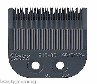Genuine OSTER Cryonyx Blade Topaz Sable Rocker Speed Line Fast Feed 76913-806