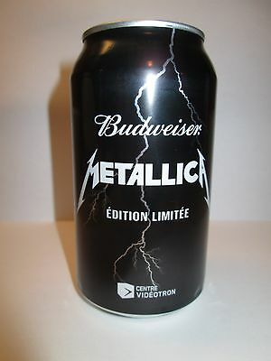 Metallica Budweiser Collector Beer Can - Limited Edition - Empty Can