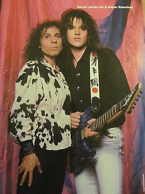 Dio, Full Page Vintage Pinup, Ronnie James Dio
