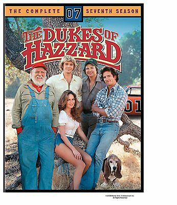 The Dukes of Hazzard Season 7 Seventh Complete Series Region 4 New DVD (6 Discs)