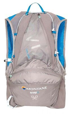 Montane Via Snap 4 Woman 4 Liters Cloudburst Grey Mochilas