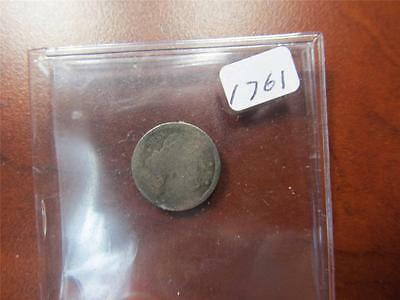 1836 US SILVER CAPPED BUST 1/2 Dime Condition AG Bullion Ungraded Item1761