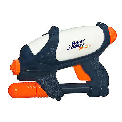 Brand New NERF Super Soaker XP-215 Blaster ~ Mini Water Pistol