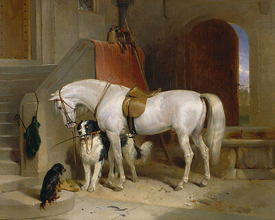 Favourites, the Property of Prince George of Cambridge Landseer Pferd B A3 01582