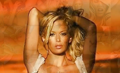 JENNA JAMESON photo mosaic cm. 30x41 poster with a lot of hot sexy pics H