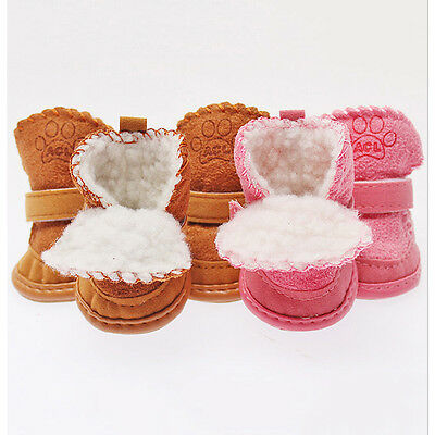 Small Dog Pet Puppy Shoes Chihuahua Boots Shoes For Dog Cat FGUK
