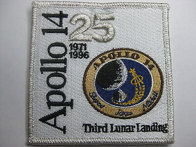 U.s. Raumfahrt Nasa Space Aufnäher Patch Apollo 14 25Th Anniversary Fasching