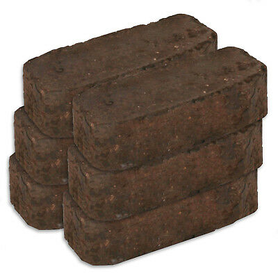 Long Lasting Overnight Peat Block Briquettes for Stoves, Open Fires & Burners
