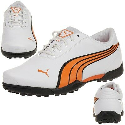 Puma Super Cell Fusion Ice Jr. Damen Kinder Golfschuhe Golf 186066 04