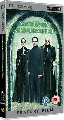 UMD VIDEO for PSP New Sealed Box MATRIX RELOADED 24Hr Post + OTHER TITLES
