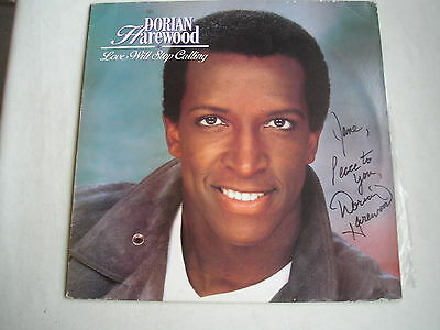 DORIAN HAREWOOD Love Will Stop Calling US LP 1988 ex minus AUTOGRAPHED