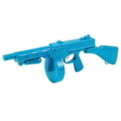 New Blue Toy Tommy Gun Mobster Gangster 20's Fancy Dress Accessory P1124