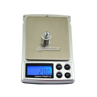1000gx0.1g Mini LCD Digitalwaage Gold  Waage Taschenwaage Feinwaage Pocket B98B