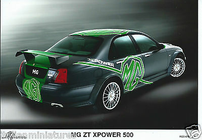 MG ZT XPower 500 Original Press Photograph Mint Condition RGS 0701 276