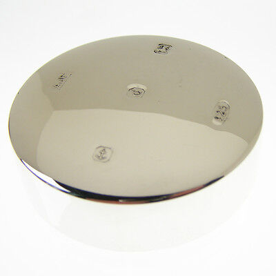 Hallmarked Silver Paperweight.  Sterling Silver Paper Weight With Large Hallmark