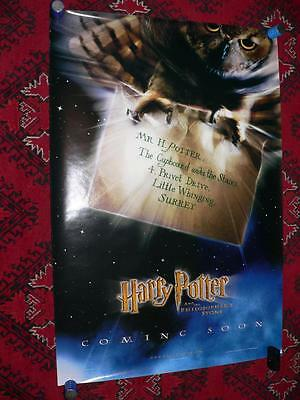 Harry Potter & The Philosopher's Stone Original Us One Sheet Movie Poster Rolled