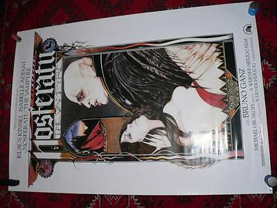 Nosferatu The Vampyre Original Us 1 One Sheet Film Movie Poster S/s Rare Rolled