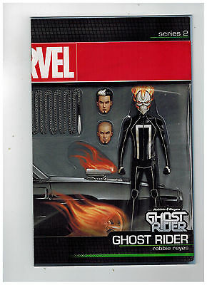 GHOST RIDER #1  Action Figure Variant Cover - Robbie Reyes  / 2017 Marvel Comics