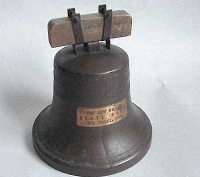 Antique c 1916 / 19  Liberty Bell Savings Bank New Riegel OH Ohio