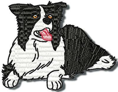Realistic Border Collie 10  Machine Embroidery Designs 3 Sizes