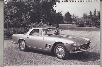 2007 Maserati Club 3500GT 50th Anniversary US Calendar Brochure ww4350