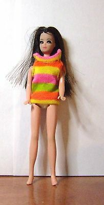 """Topper Dancing Angie Doll Wearing """"huggly Snugly"""" Mini Mold K10 Lot 60-22"""