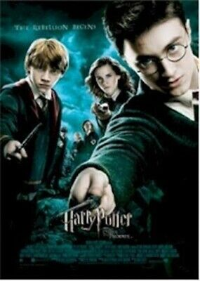 HARRY POTTER ~ ORDER OF THE PHOENIX REBELLION 27x39 MOVIE POSTER