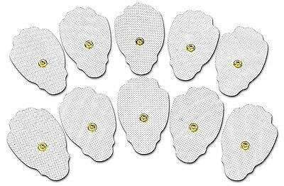 AccuMed Tens Pads Electrodes-High Conductivity-Self-Adhesive & Flexi-Mesh 10Pack
