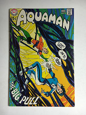 Aquaman #51 VF DC comic 1970 Adams Deadman