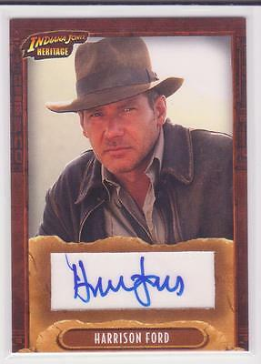 Topps Heritage Indiana Jones Autograph Card Harrison Ford Auto Star Wars