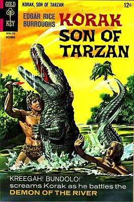 KORAK SON OF TARZAN #20 G, Gold Key 1967