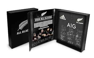 2016 All Blacks Squad Signed Jersey Boxed - Official NZRU COA - Best Price!!
