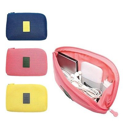 Cable USB Organizer Bag Portable Electronic Accessories Case Drive Travel Insert