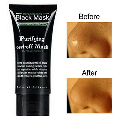 SHILLS Deep Cleansing Purifying Blackhead Pore Removal Peel-off Facial Mask~New#