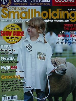 Country Smallholding Magazine April 2007 - Ducks Getting Started