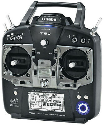 Futaba T8J 8-Channel 2.4GHz FHSS TX Only Inc battery/charger (Mode 2) P-CB8J/L